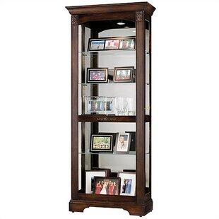 Darby Home Co Brigham Curio Cabinet