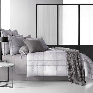 Strecker 4 Piece Reversible Comforter Set