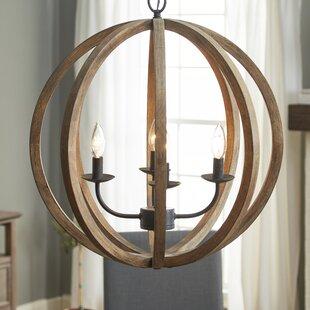 Birch Lane™ Stanton 4-Light Globe Chandelier