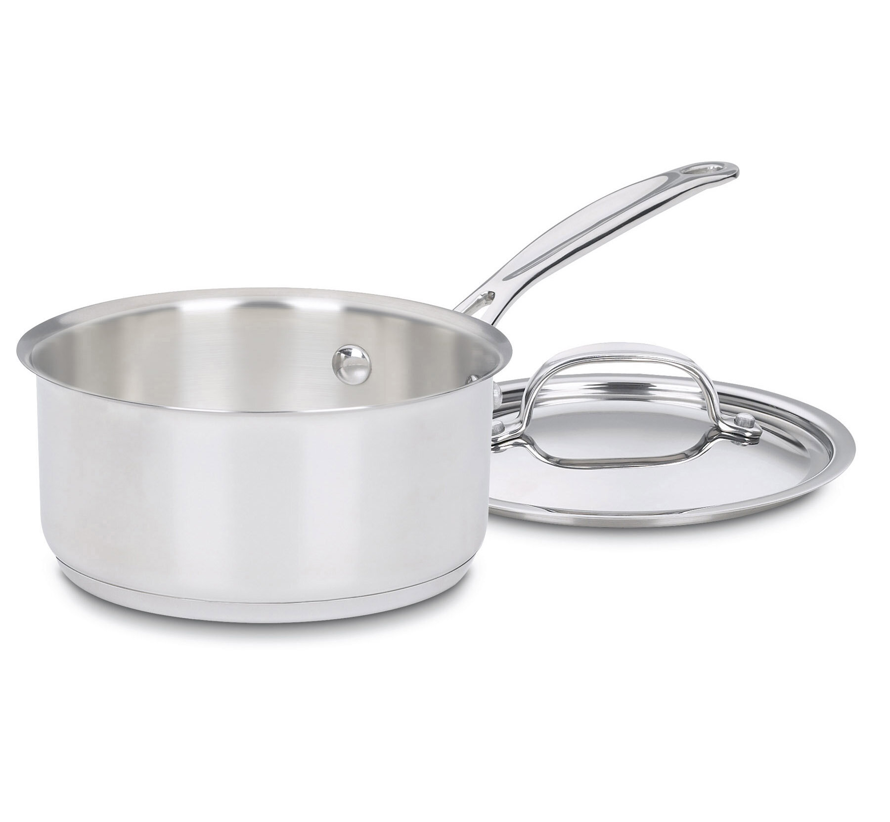 Cuisinart 1 Qt Stainless Steel Saucepan With Lid Reviews Birch Lane