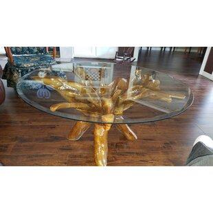 Root Teak Coffee Table by ..