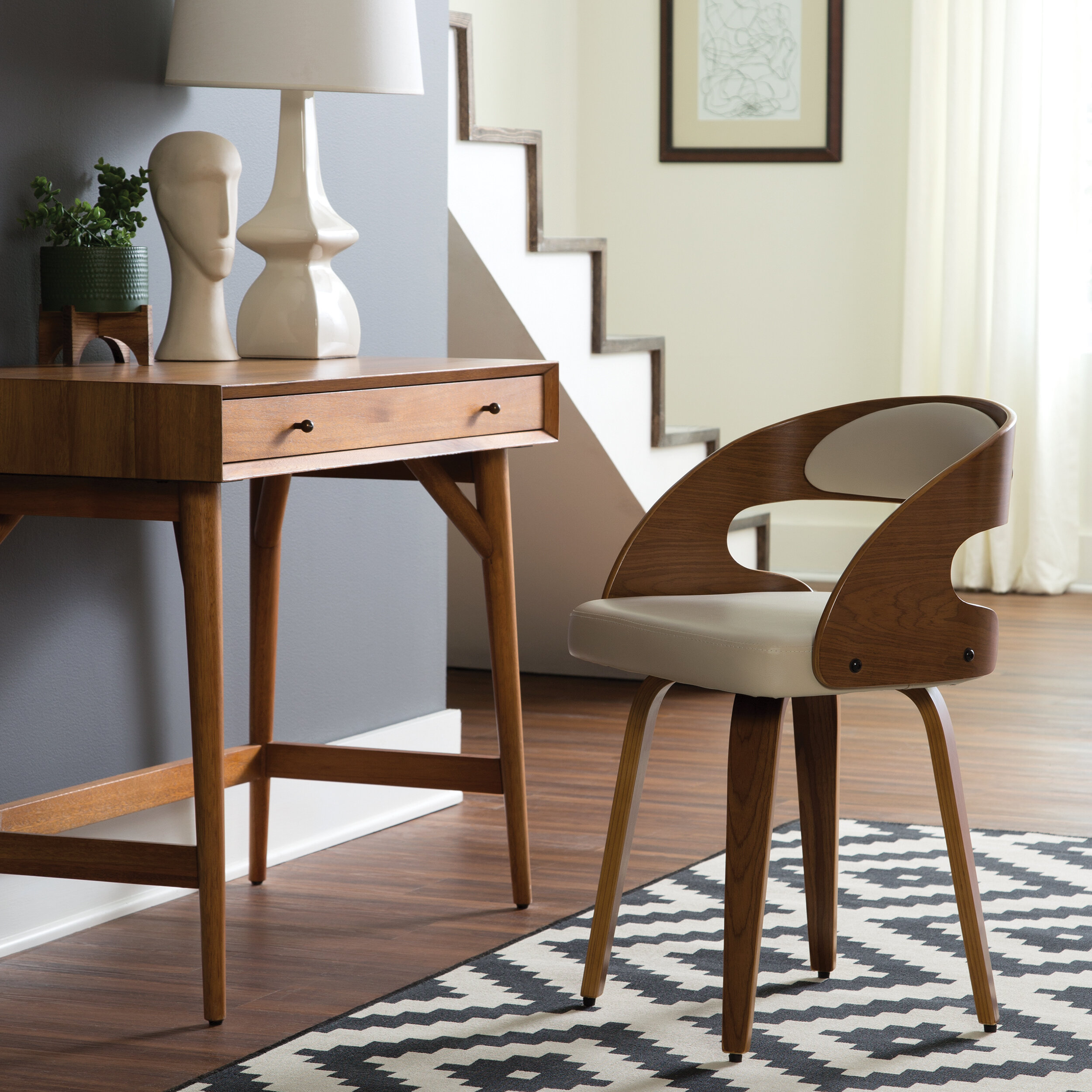 George Oliver Kwong Upholstered Dining Chair Wayfair