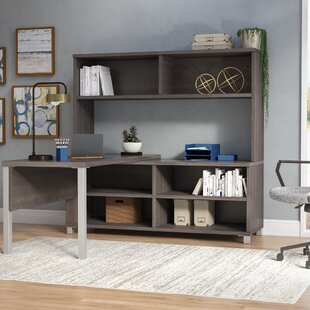 Pham 3-Piece L-Shape Desk Office Suite by Wrought Studio