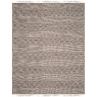 Online Reviews Oxbow Hand-Woven Ivory/Anthracite Area Rug By Laurel Foundry Modern Farmhouse