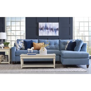 Mirabelle Reversible Sectional by Red Barrel Studio