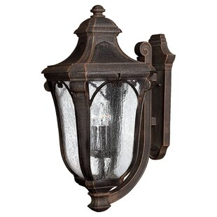 Check Prices Trafalgar 3-Light Outdoor Sconce By Hinkley Lighting