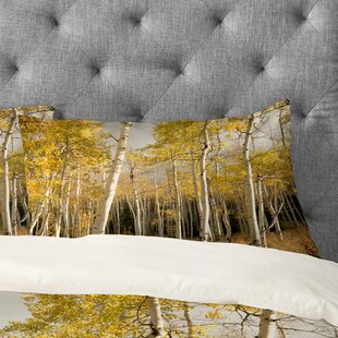 Bird Wanna Whistle Golden Aspen Pillowcase