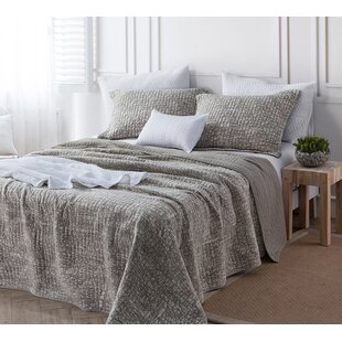 Ivy Bronx Behnke Filter Stone Washed Cotton Quilt
