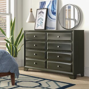 Hersacher 8 Drawer Double Dresser