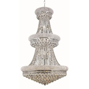 Jessenia Glam 32-Light Chain Empire Chandelier By Willa Arlo Interiors