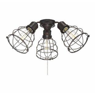 Heath 3-Light Branched Ceiling Fan Light Kit