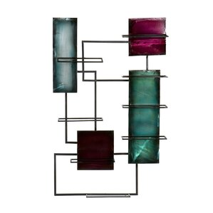Sequeira 8 Bottle Wall Mounted Wine Rack by Worl..