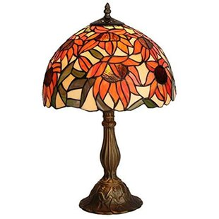 Reviews Sunflower 16.5 Table Lamp By Amora Lighting