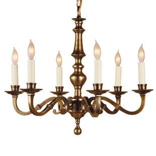 JVI Designs 6-Light Chandelier