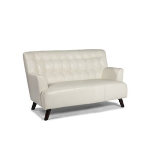 New York Leather Loveseat by Lazzaro Leather