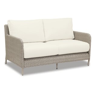 Sunset West Manhattan Loveseat with Cushions