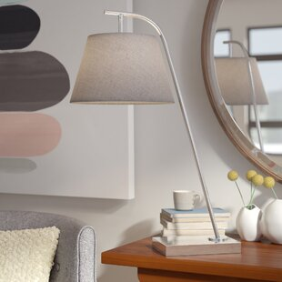 Best Price Erin 25 Arched Table Lamp By Langley Street