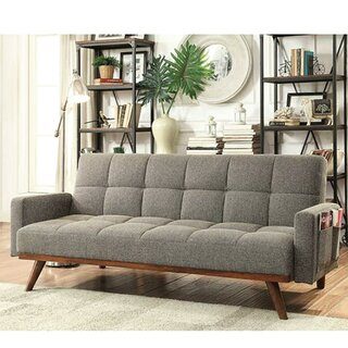 Weylyn Twin Or Smaller Tufted Back Convertible Sofa by Latitude Run