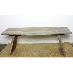 Union Rustic Lawton Sitting Wood Bench