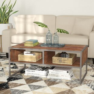 Buy clear Alanson Coffee Table by Union Rustic