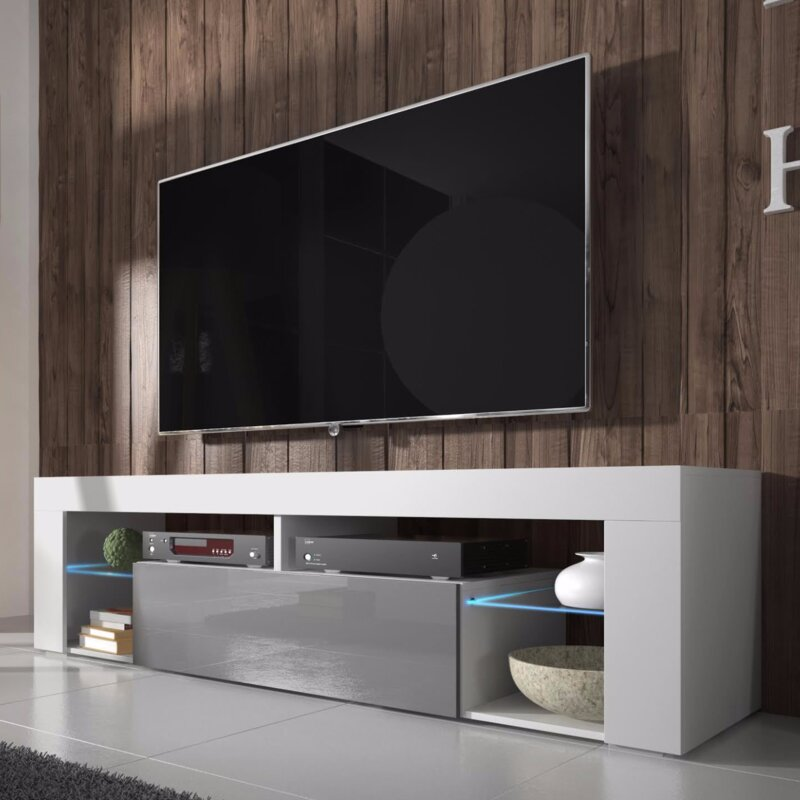 tv stand. hugo tv stand for tvs up to 50\ tv
