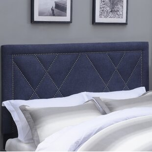 Garnes Upholstered Panel Headboard by Mercury Row