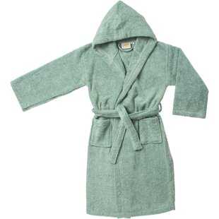 West Oak Lane Premium Kids 100% Cotton Terry Cloth Bathrobe