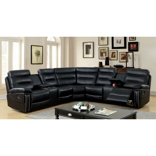 Shop Burkart Reclining Sectional by Red Barrel Studio