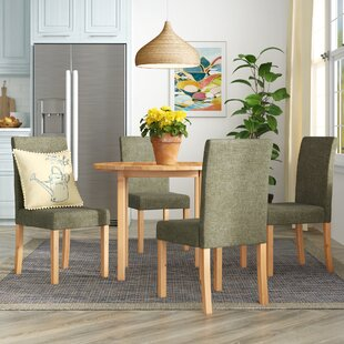 Muoi Folding Dining Set With 4 Chairs By Zipcode Design