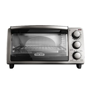 4-Slice Countertop Toaster Oven