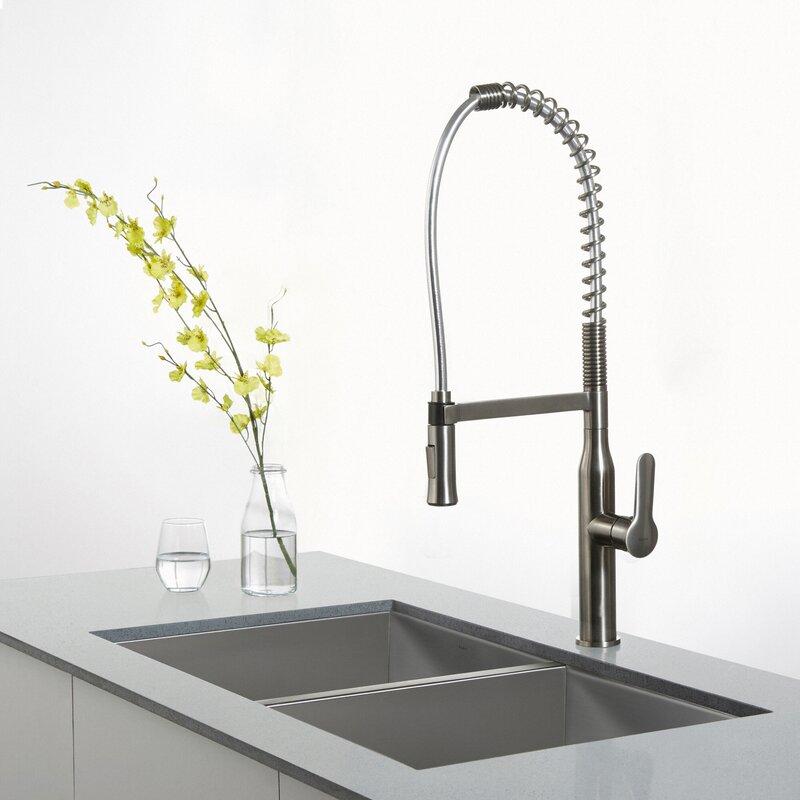Kpf 1650ss Nola Pull Down Single Handle Kitchen Faucet