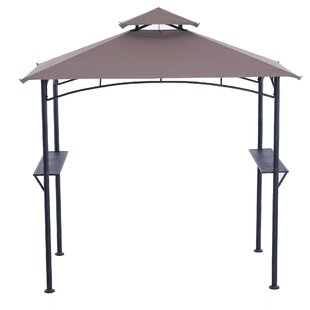 Inca 8 Ft. W x 5 Ft. D Metal Grill Gazebo by Sunjoy