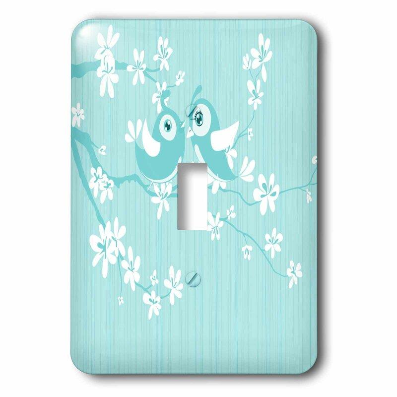 3drose Bird On Cherry Blossom 1 Gang Toggle Light Switch Wall Plate Wayfair
