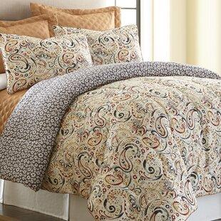 Mavia 6 Piece Reversible Comforter Set