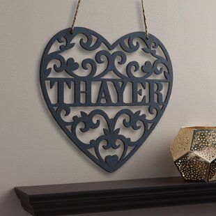 Loving Heart Personalized Wall Decor by Charlton Home
