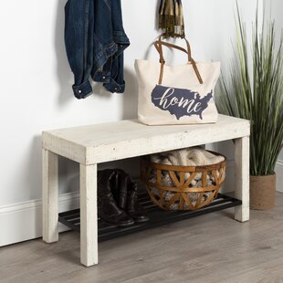 Joachim Entryway Farmhouse Bench by Gracie Oaks