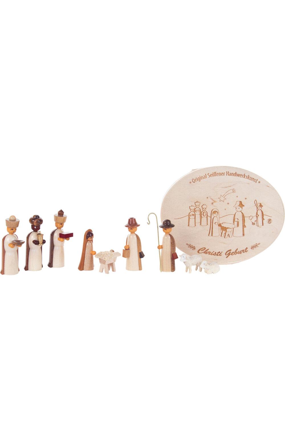 The Holiday Aisle 10 Piece Dregeno Nativity Chip Box Set Wayfair