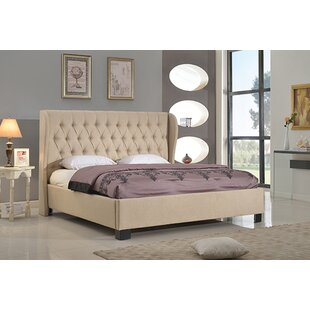 World Menagerie Merriam Upholstered Platform Bed