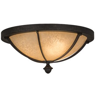 Meyda Tiffany Dominga 3-Light Flush Mount
