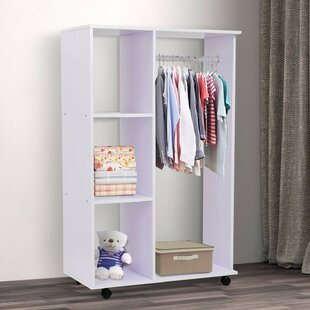 Riles 80cm Wide Clothes Storage System By Ebern Designs