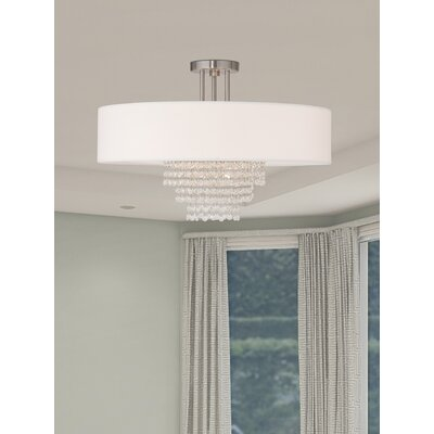home decorators collection 4 light brushed nickel.htm dor 5 light semi flush mount willa arlo interiors  light semi flush mount willa arlo interiors