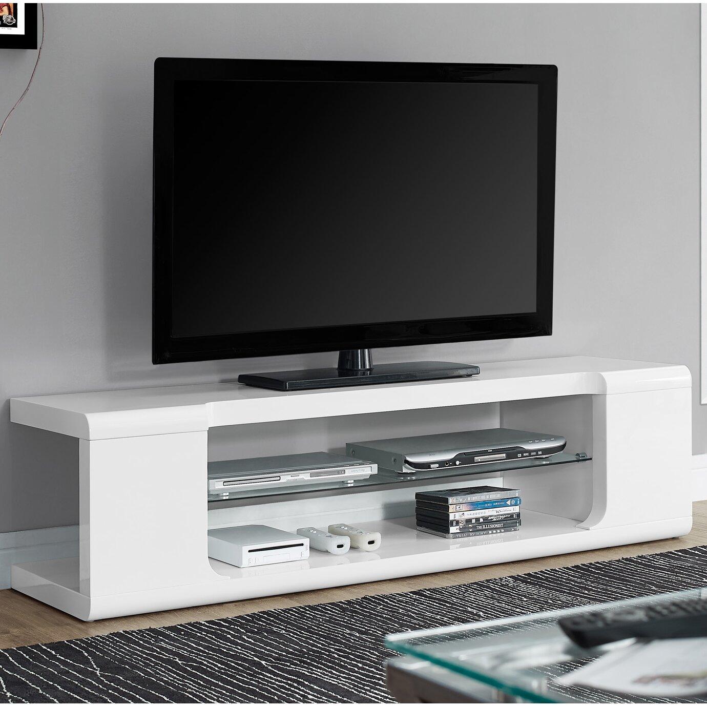 Modern TV Stand. Monarch Specialties Inc  Modern TV Stand   Reviews   Wayfair