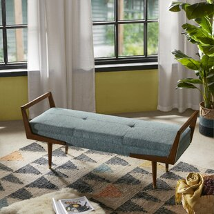 Atwood Upholstered Bench by Modern Rustic Interiors