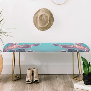 Emanuela Carratoni Candy Cactus Upholstered Bench by East Urban Home