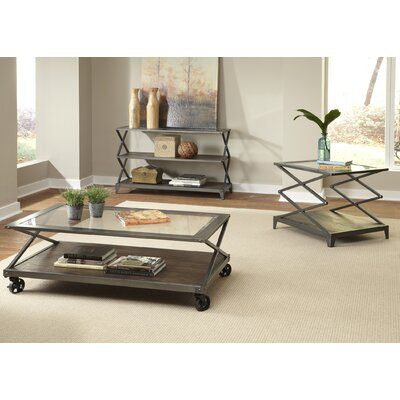 17 Stories Adelle 3 Piece Coffee Table Set