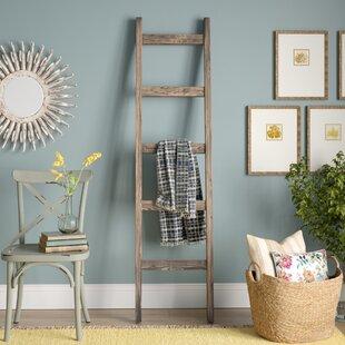 Handmade 6 ft Decorative Ladder by Gracie Oaks