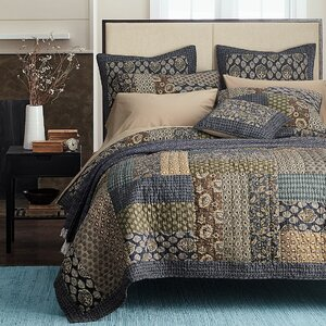 Koga Cotton Reversible Quilt Set