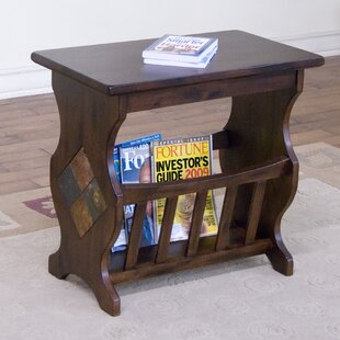 Read Reviews Fresno End Table By Loon Peak