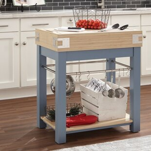 Faulk Classic Sturdy Kitchen Island Ebern Designs