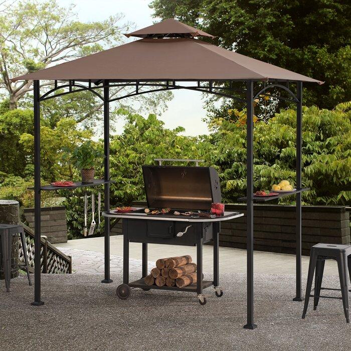 Fabulous Meijer 5 Ft W X 8 Ft D Metal Grill Gazebo Forskolin Free Trial Chair Design Images Forskolin Free Trialorg